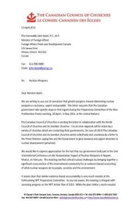 Letter to Minister Baird re NPT_Page_1 Compressed