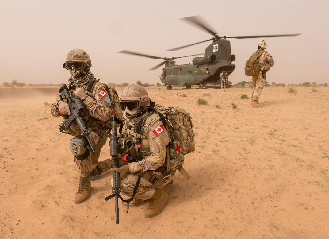 Canada's reluctant participation in peacekeeping in Mali: What it