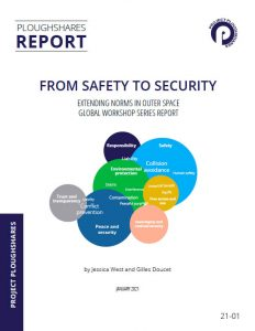"""Front page of the """"From safety security"""" report"""